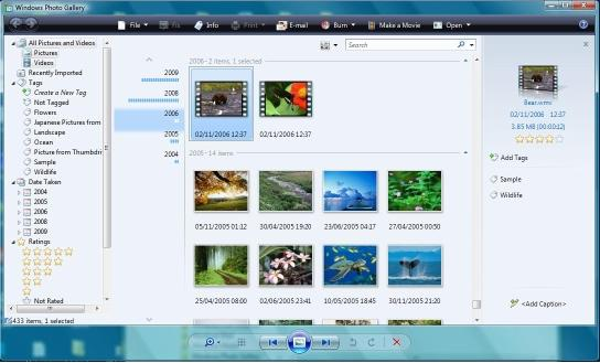 Windows Photo Gallery Pictures.pd4